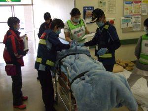 中国地区DMAT実動訓練で転院搬送訓練に参加しました。2
