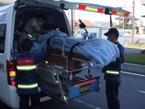 中国地区DMAT実動訓練で転院搬送訓練に参加しました。3